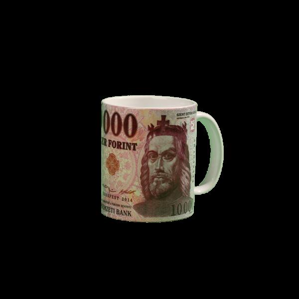 10000 Ft mintás pénzes bögre termék kép