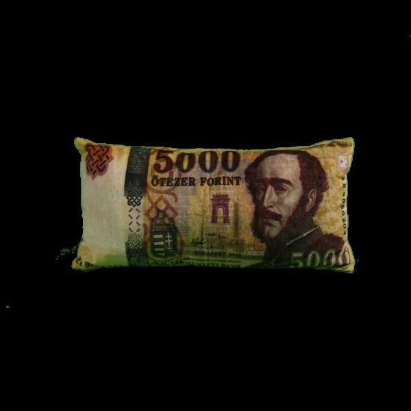 5000 Ft mintás egyedi pénzes párna termék kép