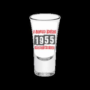 A legjobb évjárat - 1955 évszámos tüske pálinkás pohár minta
