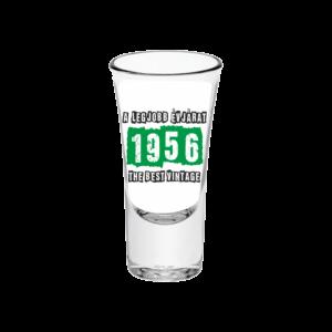 A legjobb évjárat - 1956 évszámos tüske pálinkás pohár minta