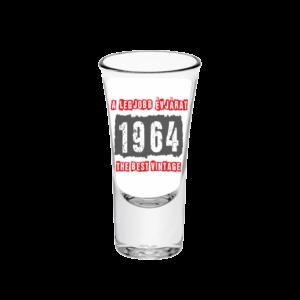 A legjobb évjárat - 1964 évszámos tüske pálinkás pohár minta