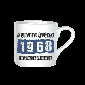 A legjobb évjárat - 1968 évszámos bögre minta