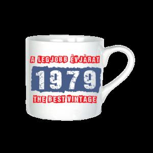 A legjobb évjárat - 1979 évszámos bögre minta
