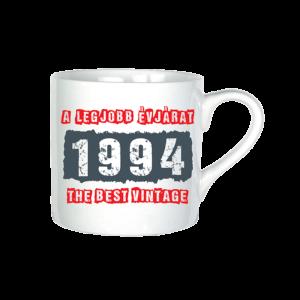 A legjobb évjárat - 1994 évszámos bögre minta