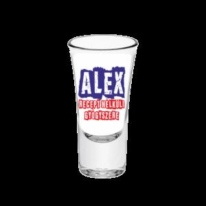 Alex recept nélküli gyógyszere neves tüske pálinkás pohár minta