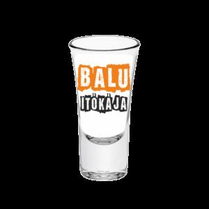 Balu itókája neves tüske pálinkás pohár minta