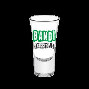 Bandi frissítője neves tüske pálinkás pohár minta