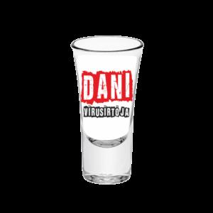 Dani vírusírtója neves tüske pálinkás pohár minta