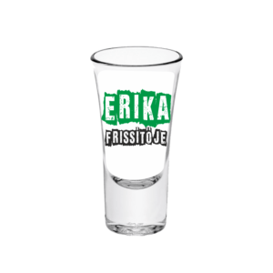 Erika frissítője neves tüske pálinkás pohár minta