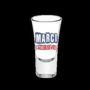 Marci nyugtatója neves tüske pálinkás pohár minta