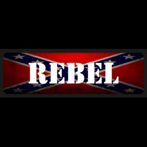 Rebel vicces rendszámtábla minta