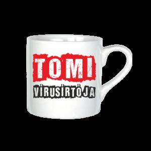 Tomi vírusirtója neves bögre minta