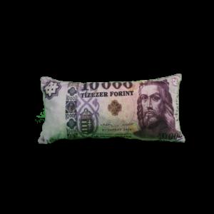 10000 Ft mintás egyedi pénzes párna termék kép