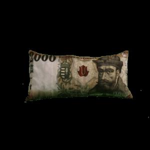 2000 Ft mintás egyedi pénzes párna termék kép