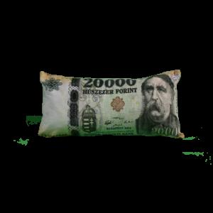 20000 Ft mintás egyedi pénzes párna termék kép