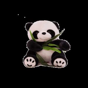 30 cm-es Plüss Panda Bambusszal termék kép