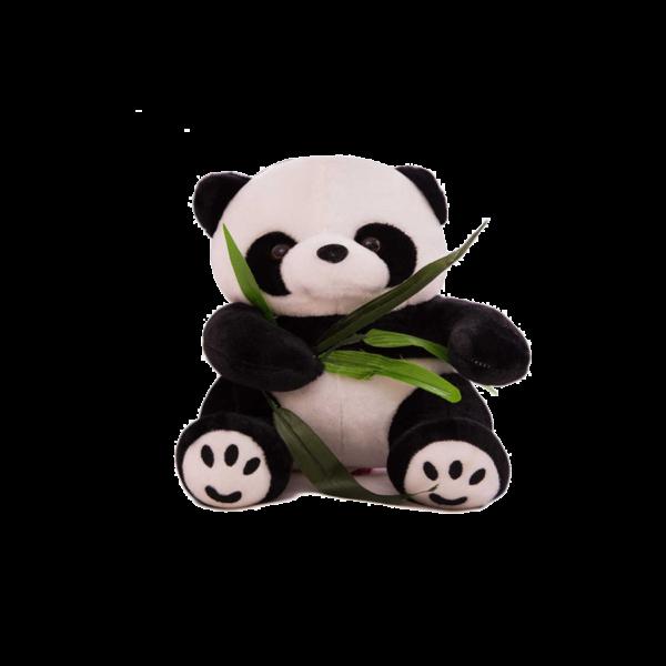 50 cm-es Plüss Panda Bambusszal termék kép
