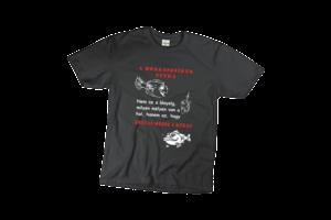 A horgász siker titka férfi fehér póló minta termék kép