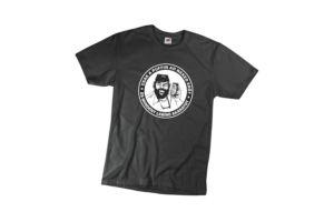 Csak a puffin ad neked erőt férfi fehér póló minta termék kép