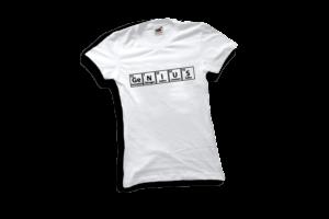 Genius női fekete póló minta termék kép