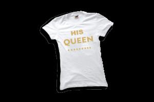 His queen női sárga2 póló minta termék kép