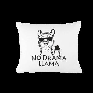 No Drama Llama Napszemüveges vicces poénos párna termék kép
