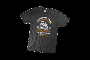 Sosem hittem volna ha felnövök bitang szuper traktoros leszek férfi fehér póló minta termék kép