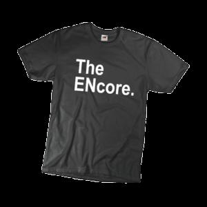 The encore férfi fehér póló minta termék kép