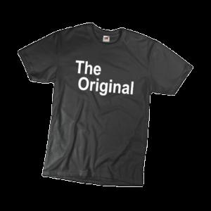 The original férfi fehér póló minta termék kép