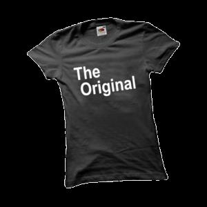 The original női fehér póló minta termék kép