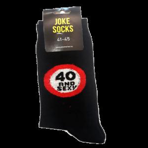 40 and sexy egyedi vicces Zokni termék kép