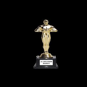 A legjobb barát Oscar szobor termék kép