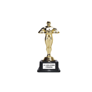 A legjobb főnök Oscar szobor termék kép
