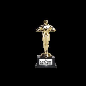 A legjobb kertész Oscar szobor termék kép