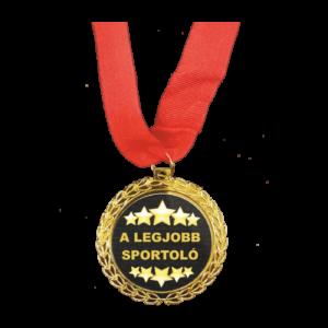 A legjobb sportoló Érem termék kép