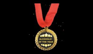 Alcoholic of the year Érem termék kép
