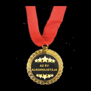 Az év alkoholistája Érem termék kép
