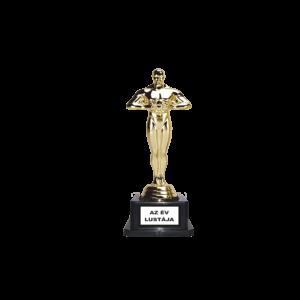 Az év lustája Oscar szobor termék kép