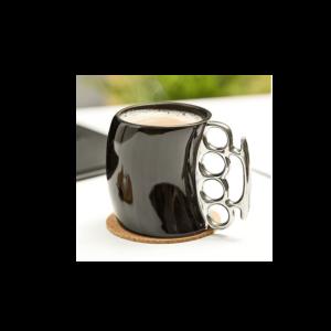 Különleges formájú Boxer kerámia bögre termék kép