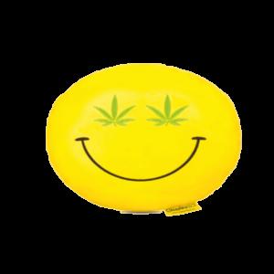 Cannabis Smiley plüss emoji párna termék kép
