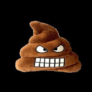 Haragos Kaki Smiley plüss emoji párna termék kép