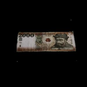 2000 Ft mintás egyedi pénzes törölköző termék kép