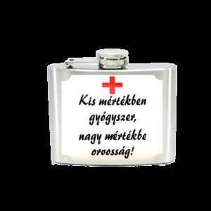 Kis mértékben gyógyszer, nagy mértékben orvosság! flaska termék kép
