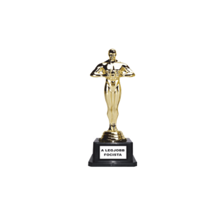 A legjobb focista Oscar szobor termék kép
