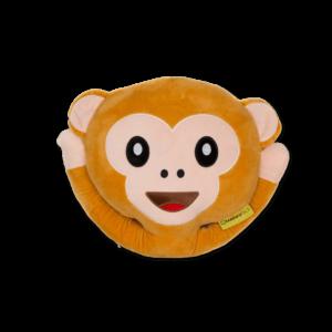 Maki Smiley plüss emoji párna termék kép