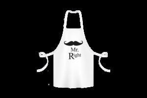 Mr. Right - Kötény termék kép