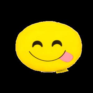 Nyelves Smiley plüss emoji párna termék kép
