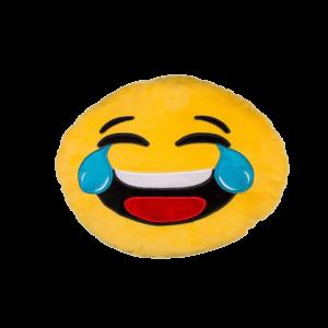 Sírva nevető Smiley plüss emoji párna termék kép