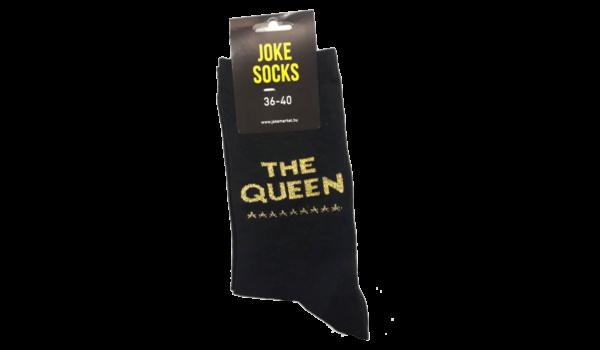 The queen egyedi vicces Zokni termék kép