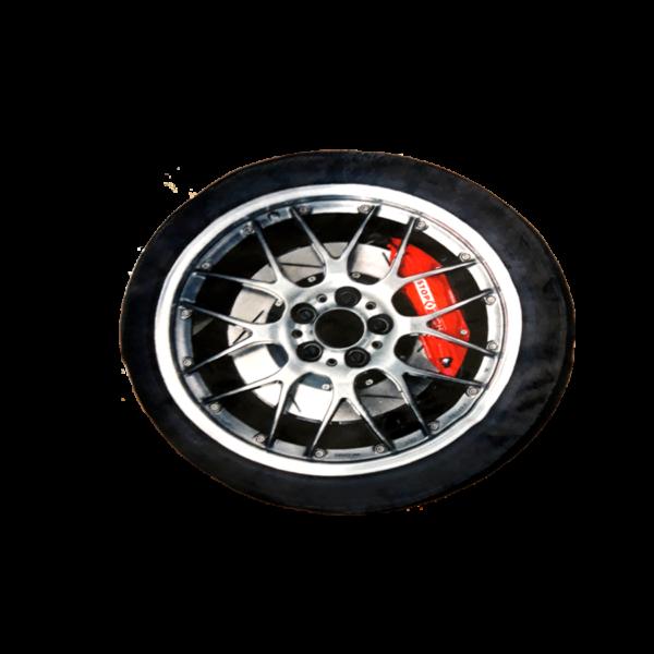 3D Plüss Autó kerék Párna termék kép